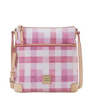 Dooney & Bourke Crossbody Bag ~ Pink Gingham NWT